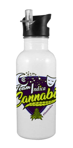 Team Indica 20 oz Aluminum Water Bottle