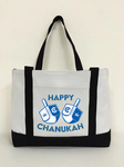 Happy Chanukah Canvas Bag