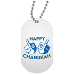 Happy Chanukah Dog Tag