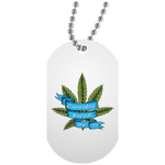 Cannabis Saved My Life Dog Tag