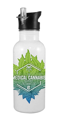 Cannabinoid Icon 20 oz Aluminum Water Bottle