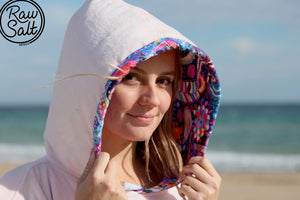 Pink Hooded Towel