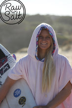 pink surf poncho hooded towel gifts for girls super soft cotton velour girlie pink gifts for mum