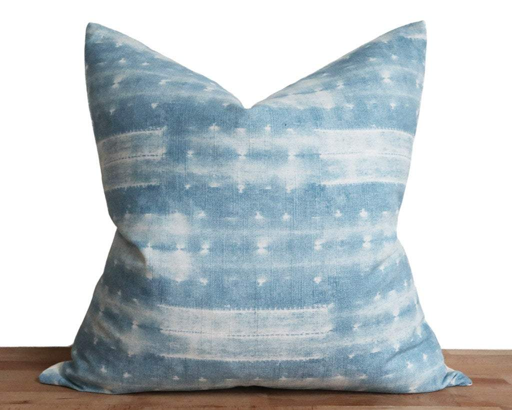 Shibori Style Designer Cover Decorative Pillows Stitched By Grace