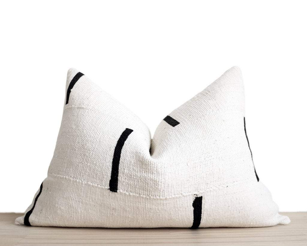 Nina, Lumbar Decorative Pillows Stitched By Grace