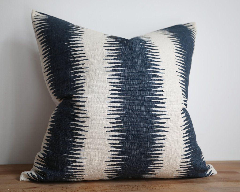 Savannah, Coastal Style Pillow Cover Decorative Pillows Stitched By Grace
