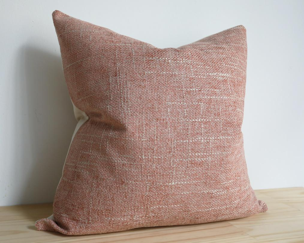 Kisco, Muted Rose Decorative Pillows Stitched By Grace