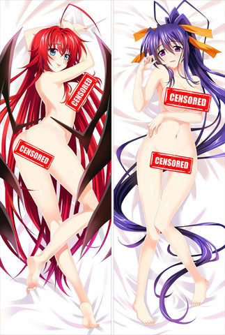 High School DxD Rias and Akeno Dakimakura Pillowcase (DP10011)