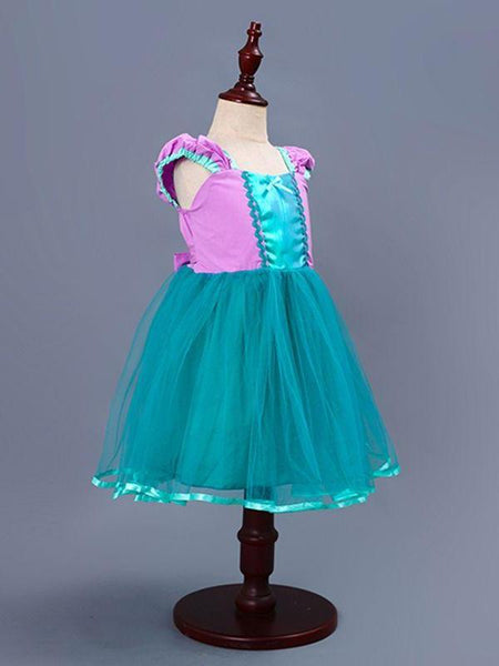 Mermaid inspired halloween dress-up dress