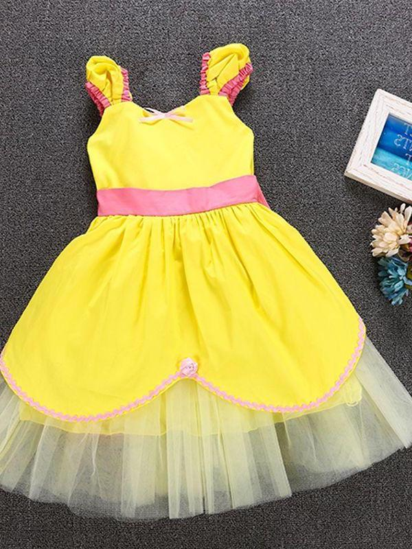 Belle from Beauty and the Beast inspired dress