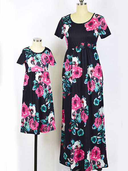 Mommy and Me Floral Maxi