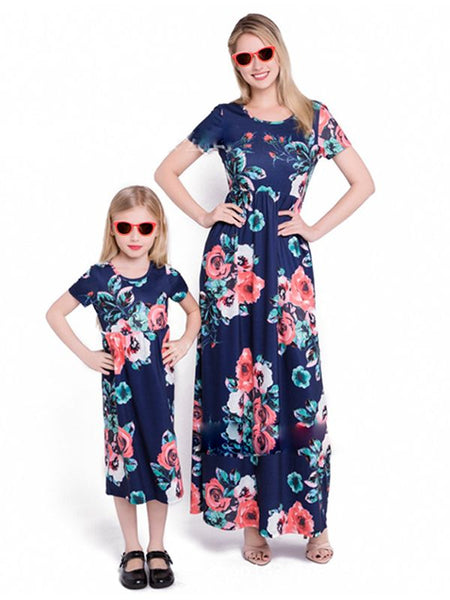 mommy and me maxi dress