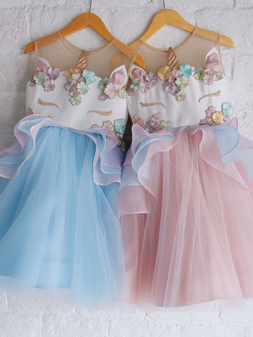 Unicorn Princess Tulle Dress