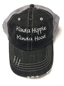 Kinda Hippie Kinda Hood Trucker Hat