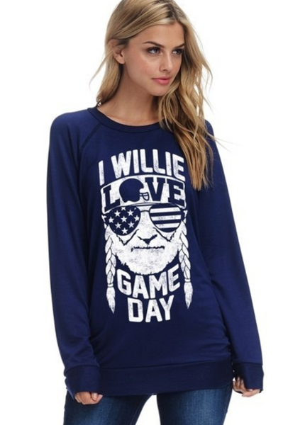 Willie Nelson - I Willie Love Game Day