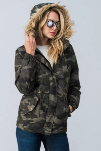 camo jacket for ladies women