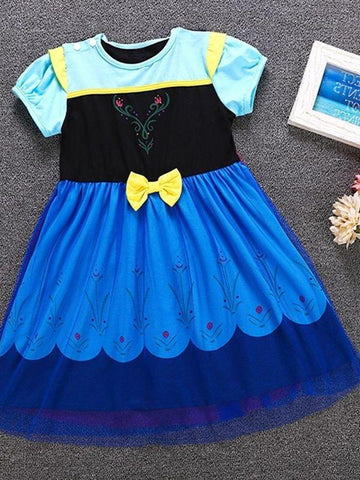 Frozen Anna costume dress. Great for Halloween and dress-up.