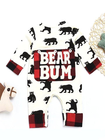 bear bum bear jammies pajamas