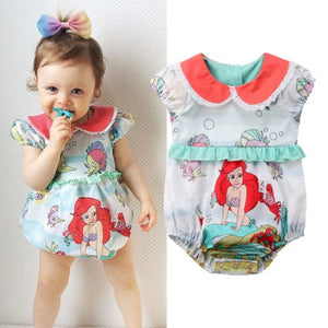 Little Mermaid Romper