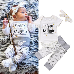 Snuggle this Muggle (3 pcs set)