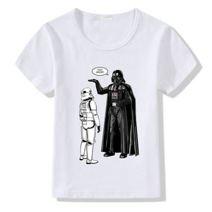 Star Wars Too Short Graphic T