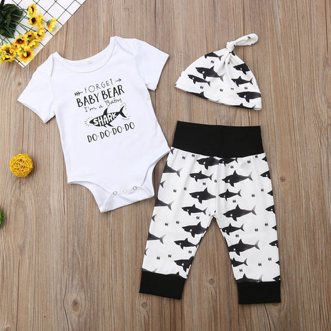 baby shark outfit set