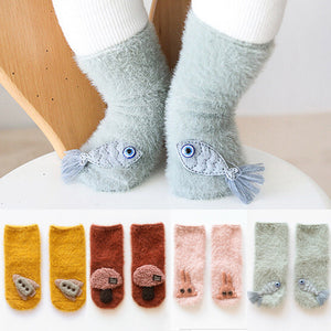 Soft and Fuzzy Socks for the Littles
