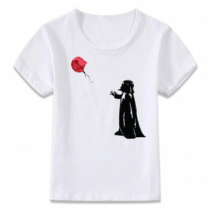 Red Balloon Darth Vader Graphic T