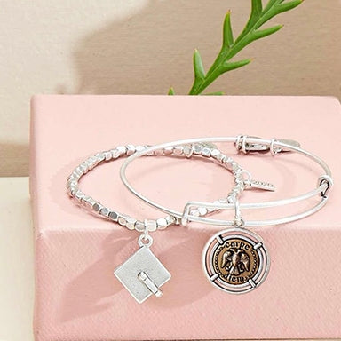 Two celebration ALEX AND ANI bracelets