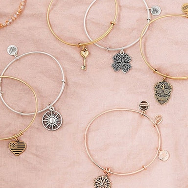 Various ALEX AND ANI bracelets