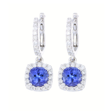 Ladies' sapphire earrings
