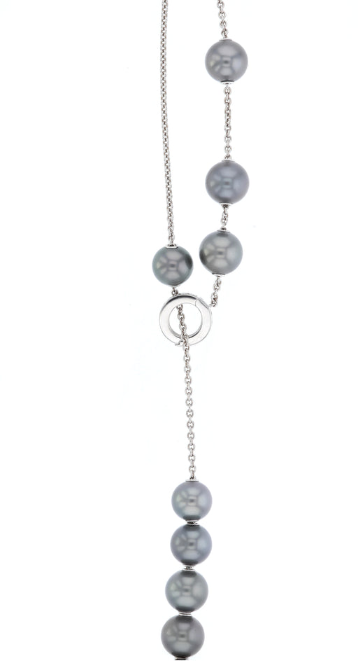Black Pearl Ladies Necklace