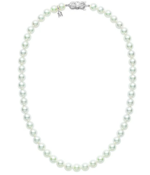 White Pearl Ladies Necklace