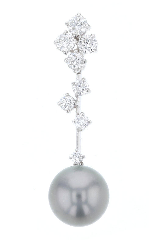 Ladies Pendant Black Pearl
