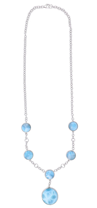 Larimar Ladies Necklace (Larimar)