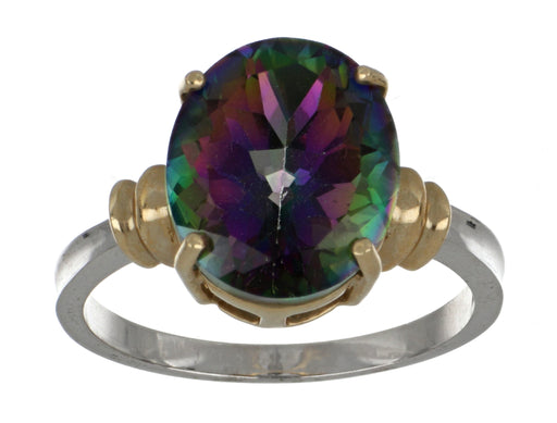 Rainbow Topaz Ladies Ring (Twilight Topaz 1.50 cts.)