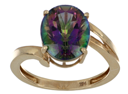 Rainbow Topaz Ladies Ring (Rainbow Topaz 5.50 cts.)