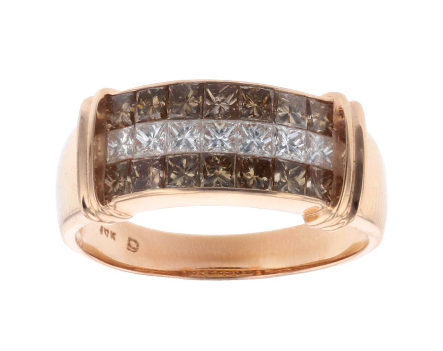 Brown Diamond Mens Ring (Brown Diamond 2.02)