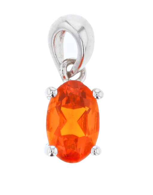 Fire Opal Ladies Pendant (Fire Opal 0.3 cts.)