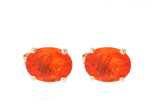 Fire Opal Ladies Earrings (Fire Opal 0.73 cts.)