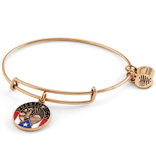 ALEX AND ANI Puerto Rico Charm Bangle