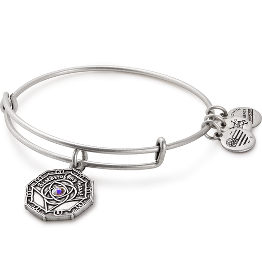 ALEX AND ANI Bridesmaid Charm Bangle Rafaelian Silver