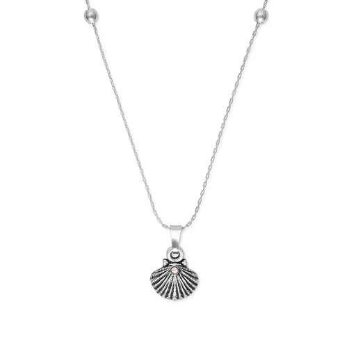 ALEX AND ANI Sea Shell Necklace
