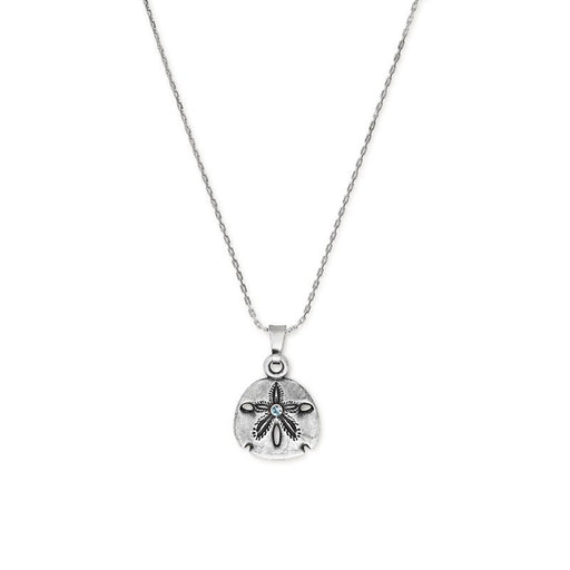 ALEX AND ANI Sand Dollar Necklace