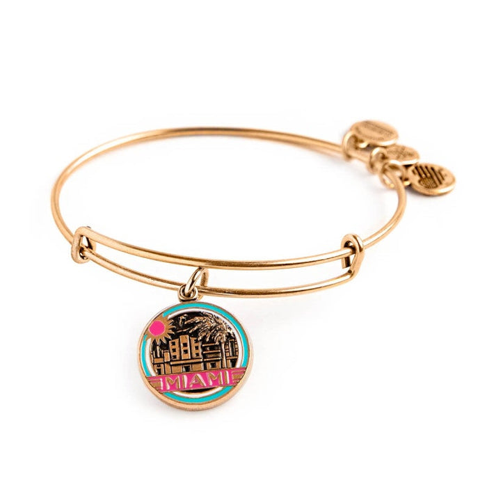 ALEX AND ANI Miami Charm Bangle