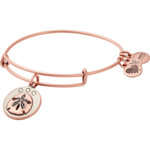 ALEX AND ANI Color Infusion Sand Dollar Charm Bangle
