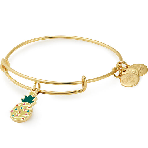 ALEX AND ANI Color Infusion, Christmas Pineapple EWB,