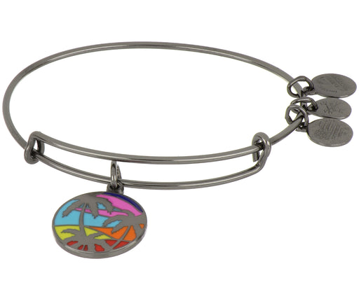 ALEX AND ANI Exclusive Colored Caribbean Palm Tree Bangle