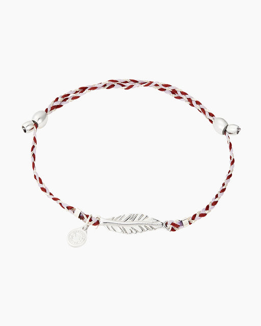 ALEX AND ANI Feather Precious Threads Bracelet