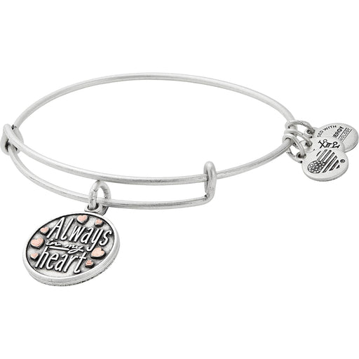 ALEX AND ANI Always in My Heart Charm Bangle